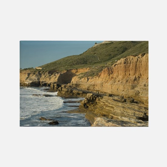 cabrillo monument coast Rectangle Magnet