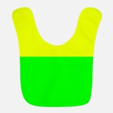 Lemon Lime Striped Bib