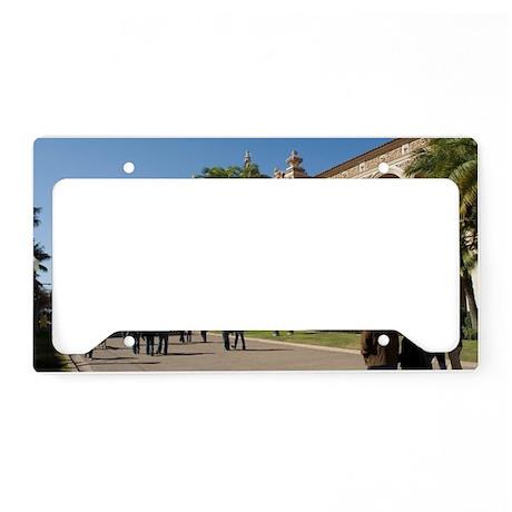 El Parado Balboa Park License Plate Holder