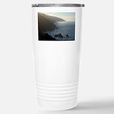 big sur sea mist Stainless Steel Travel Mug
