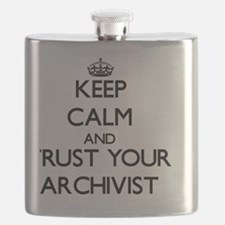 Keep Calm and Trust Your Archivist Flask