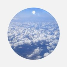 flight above the clouds Ornament (Round)