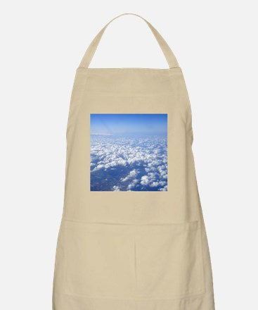 flight above the clouds Apron