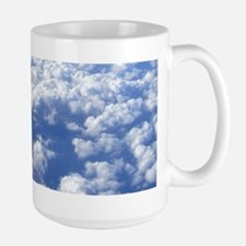 flight above the clouds Mugs