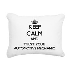 Keep Calm and Trust Your Rectangular Canvas Pillow