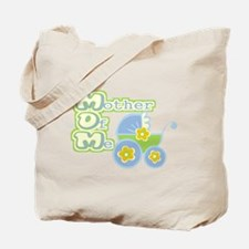 MOM - Mother Of Me, Blue Tote Bag