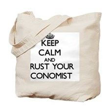Keep Calm and Trust Your Economist Tote Bag
