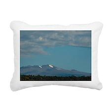 mauna kea Rectangular Canvas Pillow