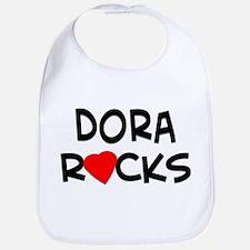 Dora Rocks Bib