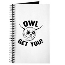Owl Get You! Journal