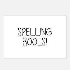 Spelling Rools! Postcards (Package of 8)