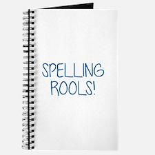 Spelling Rools! Journal