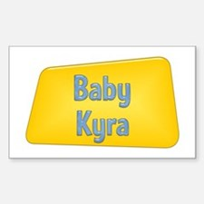 Baby Kyra Rectangle Decal