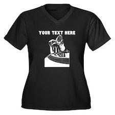 Custom DJ Plus Size T-Shirt