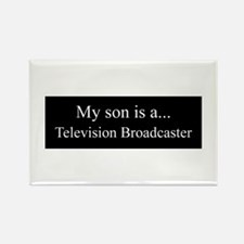 Son - Television Broadcaster Magnets