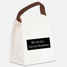 Son - Television Broadcaster Canvas Lunch Bag