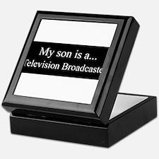 Son - Television Broadcaster Keepsake Box