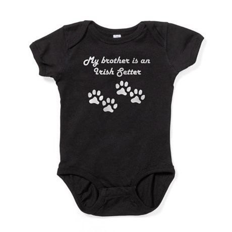 My Brother Is An Irish Setter Baby Bodysuit