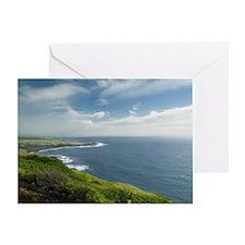 Big island coast Greeting Card