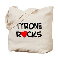 Tyrone rocks Tote Bag