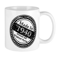 Made In 1940 Small Mug