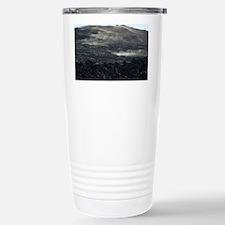 volcanic smoke hill Travel Mug