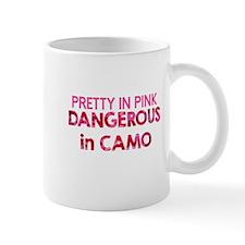 Pretty in Pink, Dangerous in Camo Mugs