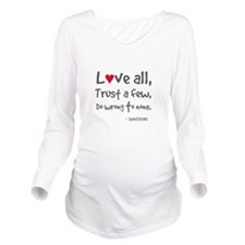L?ve all Long Sleeve Maternity T-Shirt