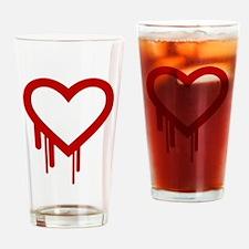 HeartBleed Drinking Glass
