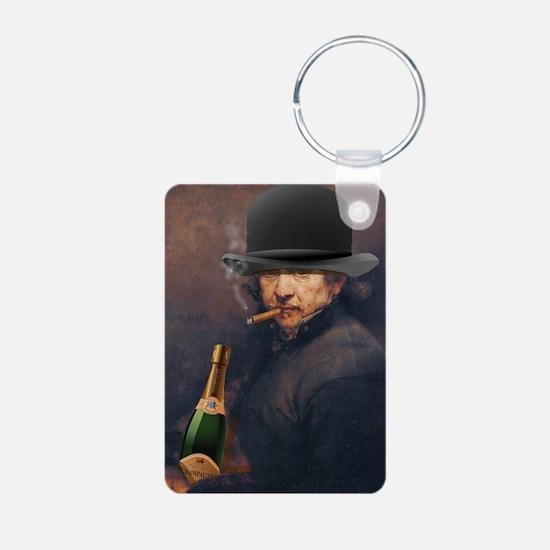 Self-portrait of Rembrandt Keychains
