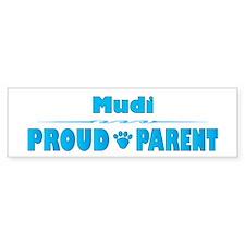 Mudi Parent Bumper Bumper Sticker