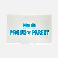 Mudi Parent Rectangle Magnet (100 pack)