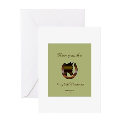 Horse Theme Design by Chevalinite Greeting Cards