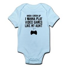 Play Video Games Like My Aunt Body Suit