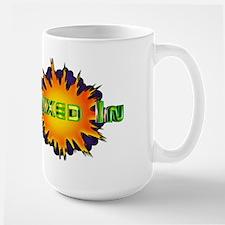 Retro Burst Logo Mugs