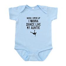Dance Like My Auntie Body Suit