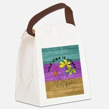 Oma 3 Canvas Lunch Bag