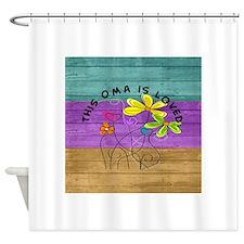 Oma 3 Shower Curtain
