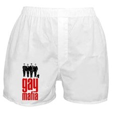gay mafia | queer power syndicate (boxer shorts)