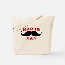 Macho Mustache Man Tote Bag