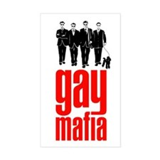 gay mafia | queer power syndicate (sticker)