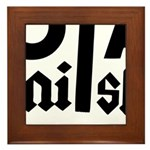 Royal Punisher Logo Framed Tile