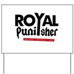 Royal Punisher Logo Yard Sign