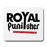 Royal Punisher Logo Mousepad