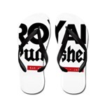 Royal Punisher Logo Flip Flops