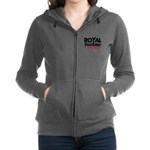 Royal Punisher Logo Women's Zip Hoodie