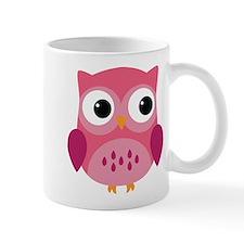 Pink Owl-3 Mugs