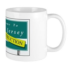 Construction NJ Funny Mug