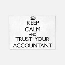 Keep Calm and Trust Your Accountant 5'x7'Area Rug