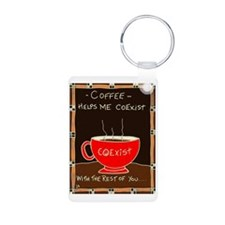 Coffee Coexist Keychains